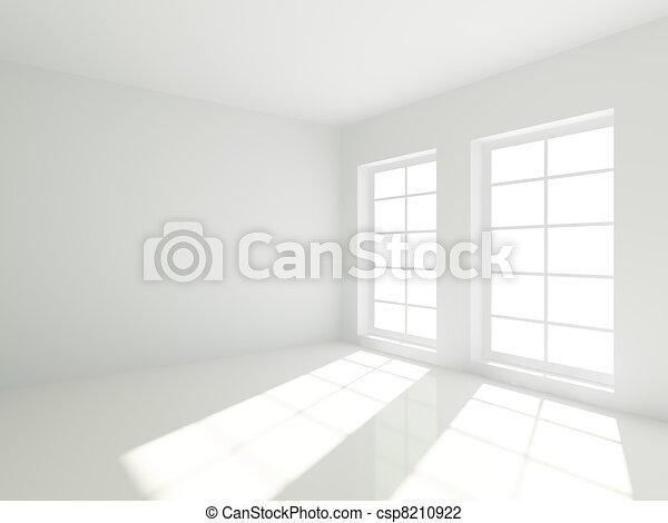 Clip art van kamer lege 3d lege witte kamer met vensters csp8210922 zoek naar clipart - Witte kamer en fushia ...