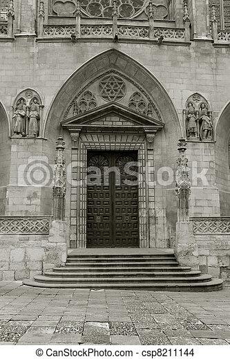Cathedral of Burgos, Castilla y Leon, Spain - csp8211144