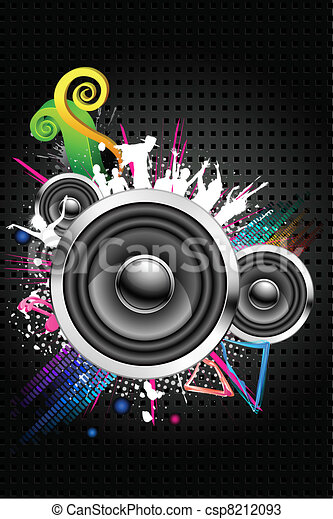 Musical Night - csp8212093