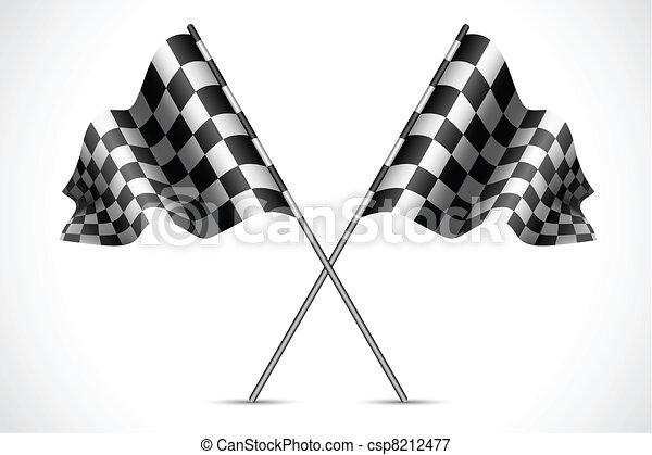 Race Flag - csp8212477