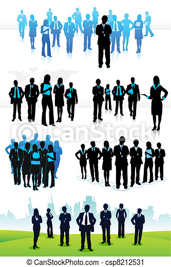 Business People - csp8212531
