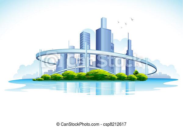 Skyscraper - csp8212617