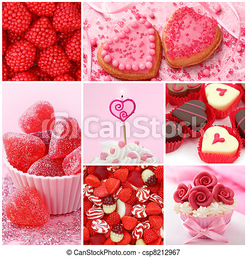 Sweets for valentine's day - csp8212967