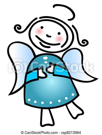 Natale, angelo - csp8213964