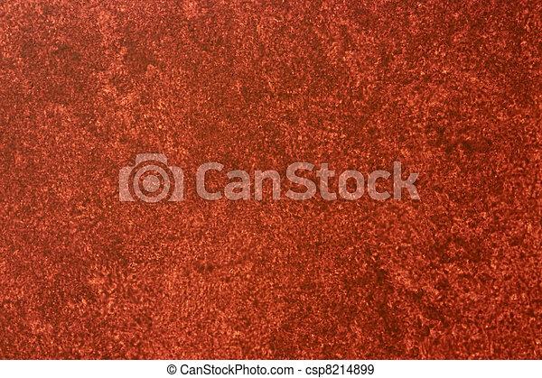 Reddish Sponge Painted Background - csp8214899