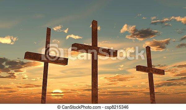 復活節 - csp8215346