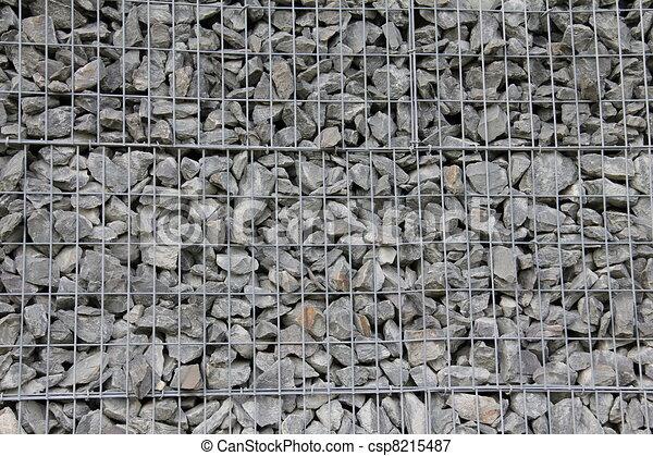 bilder von stein wand metall gitter nett hintergrund csp8215487 suchen sie stock. Black Bedroom Furniture Sets. Home Design Ideas