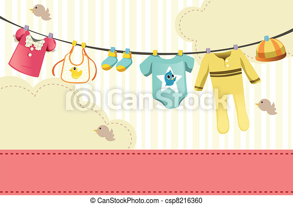Baby clothings - csp8216360