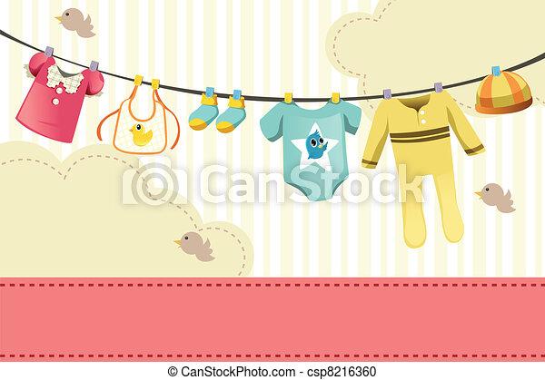Baby clothings - csp8216360
