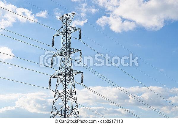 electricity pylon - csp8217113