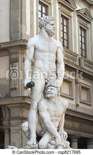 Hercules and Caco - csp8217695