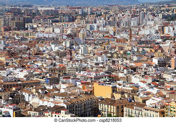 Malaga, Spain - csp8218053
