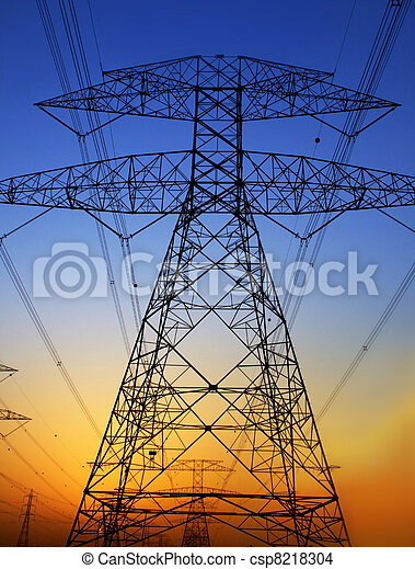 Electricity Pylon - csp8218304