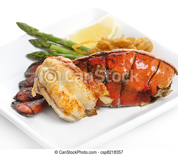 Grilled Lobster Tail - csp8218357