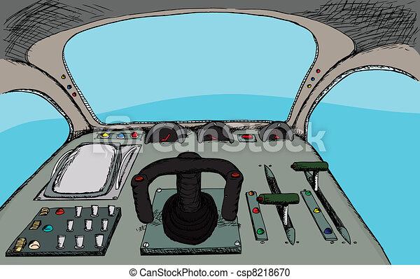 Retro Cockpit - csp8218670