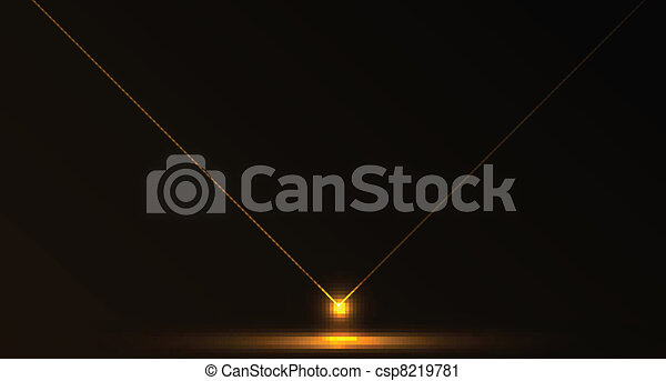 Vector abstract laser background - csp8219781