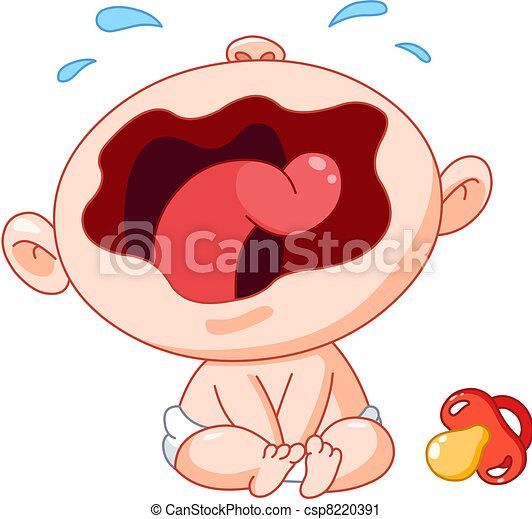 Crying baby - csp8220391
