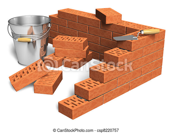 Construction industry concept - csp8220757