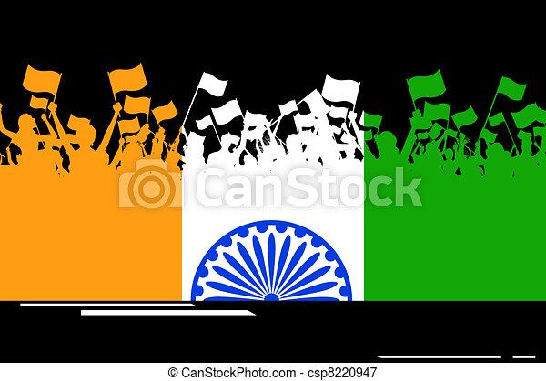Indian Patriotism - csp8220947