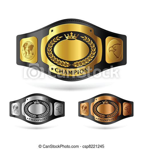 Champion belt - csp8221245