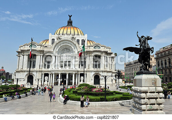 Fine Arts Palace, Mexico - csp8221807