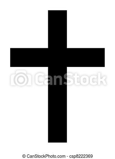 Christian Cross - csp8222369