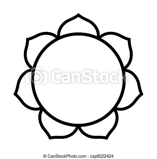 Buddhist Lotus flower - csp8222424