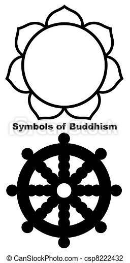 Buddhist Lotus flower - csp8222432