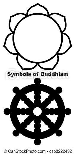 Buddhist Lotus flower - csp8222432