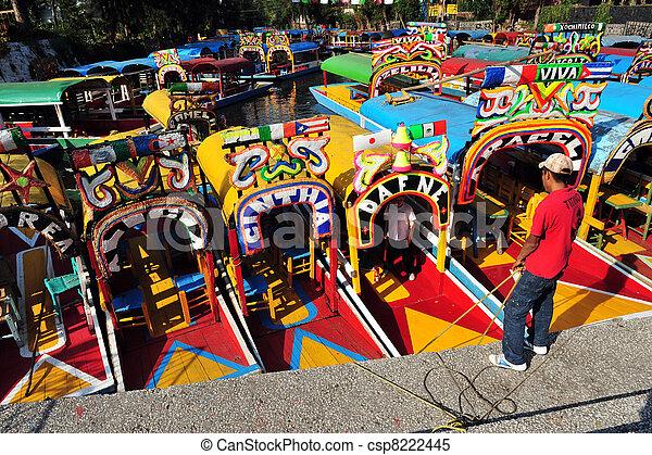Mexican Gondolas, Mexico - csp8222445
