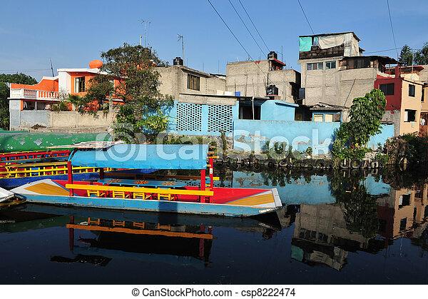Mexican Gondolas, Mexico - csp8222474