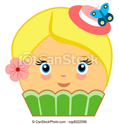 Cupcake Clipart With Faces Cute Cupcakes With Faces