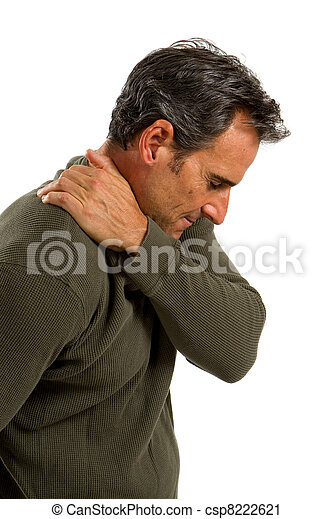 Shoulder Pain Man - csp8222621