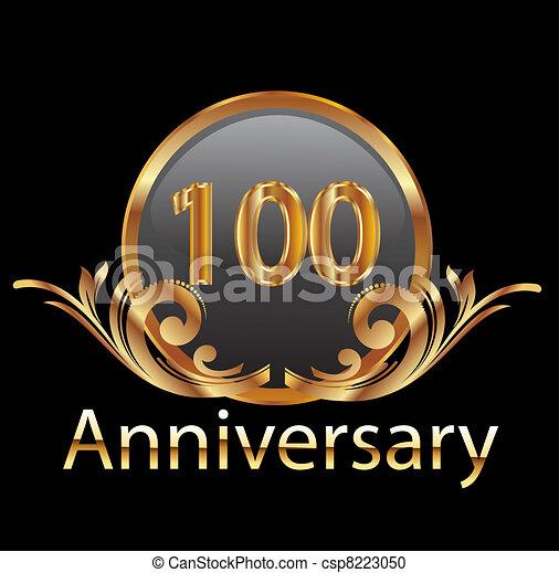 Gold 100 anniversary - csp8223050