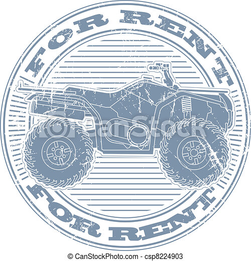 For rent stamp - csp8224903
