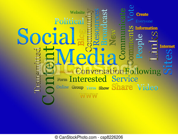 Social Media Related Text  - csp8226206