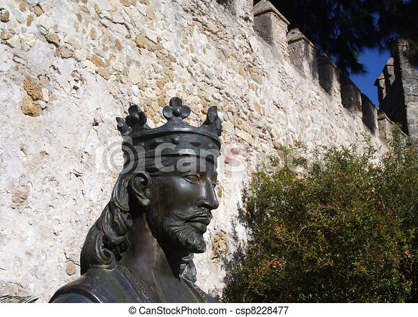 Statue of Alfonso X the Wise - csp8228477