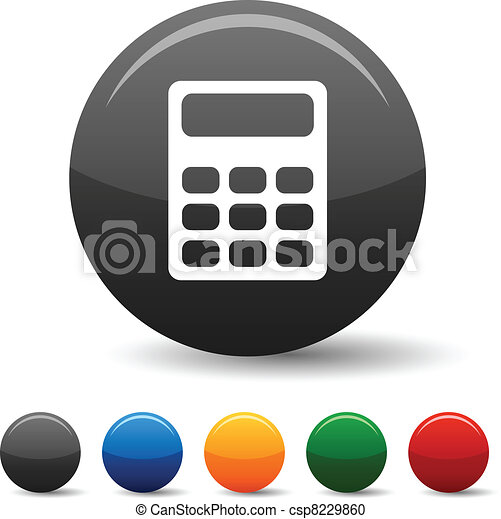 Calculate icons. - csp8229860