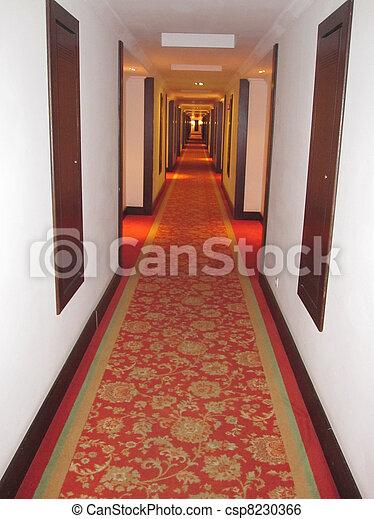 image de h tel couloir h tel rouges moquette sur
