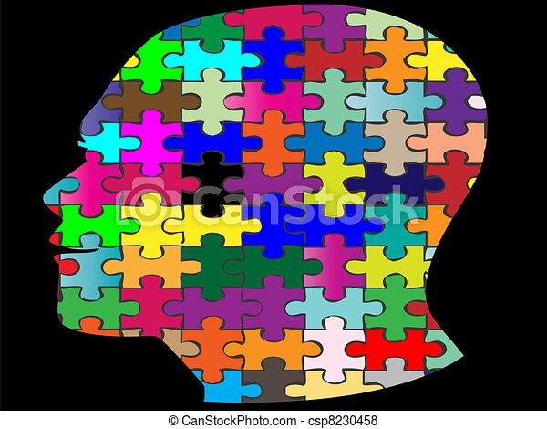 jigsaw head - csp8230458