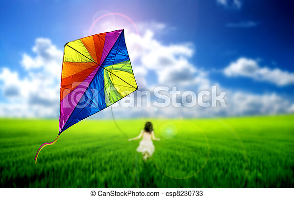 Kite flying - csp8230733