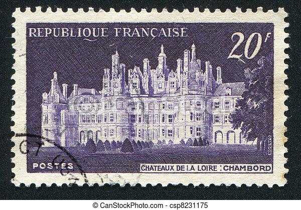 Chateau de Chambord - csp8231175