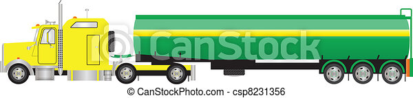Road Tanker Semi Trailer - csp8231356