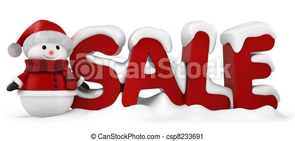 Christmas Sale - csp8233691