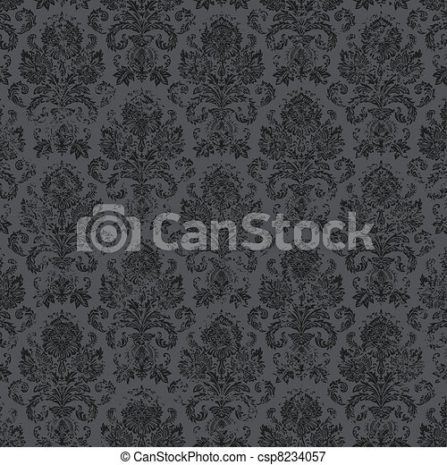 Vector Distressed Victorian Background - csp8234057