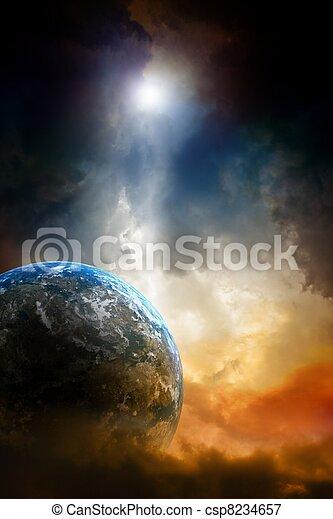 Planet in danger - csp8234657