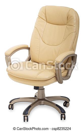 Photo nouveau cuir bureau chaise roues image - Roue de chaise de bureau ...