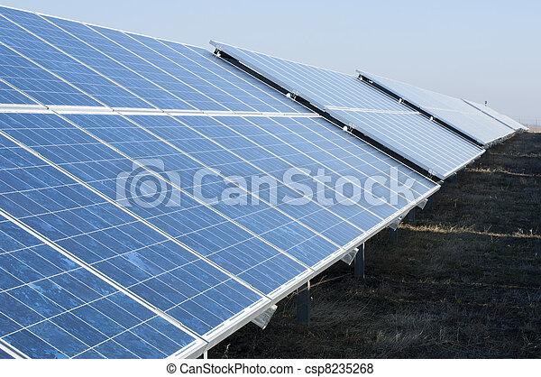 Solar photovoltaic panels - csp8235268