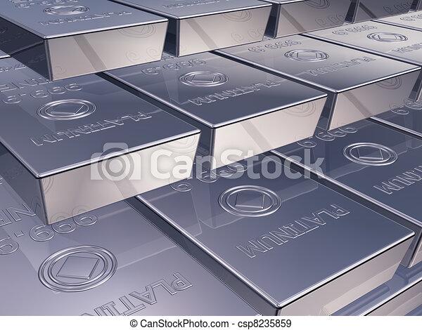 Platinum ingots - csp8235859