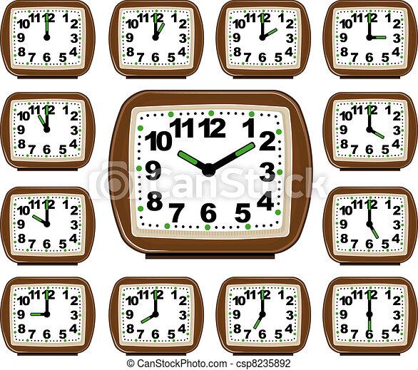 The Set Clock Time - csp8235892